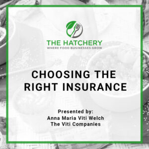 choosing the right food business insurance course product