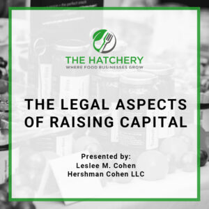 legal aspects of raising capital course product